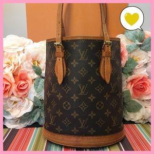 Louis Vuitton Authentic Bucket Pm